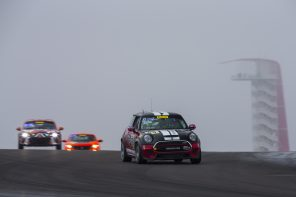 The MINI JCW Team Gets a Podium in its First TC America Race