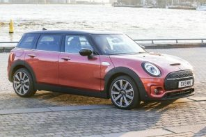 The 2020 MINI Clubman LCI Spied Undisguised