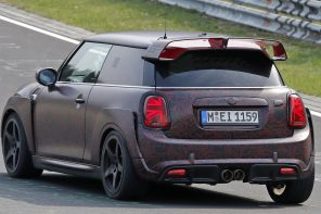 Video: 2020 MINI JCW GP Testing at the Nurburgring