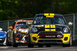 Podium Finish for MINI JCW Team at VIR