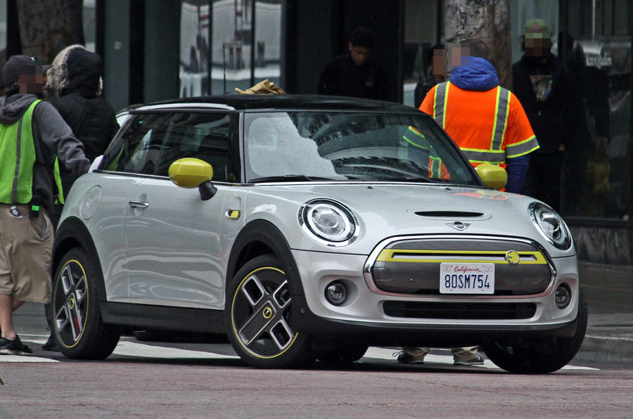 MINI Cooper S E electric vehicles