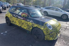 2020 MINI Cooper S E Spotted Hot Weather Testing in the US