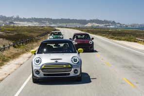 MINI Shows off the Cooper SE and JCW GP At Monterey