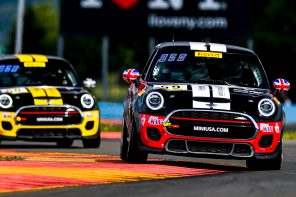 MINI JCW Team Sweeps Weekend at Watkins Glen