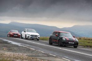 Triple Test: MINI JCW Clubman, BMW M135i and the AMG A35