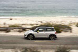 MINI Cooper SE On its First US Road-trip